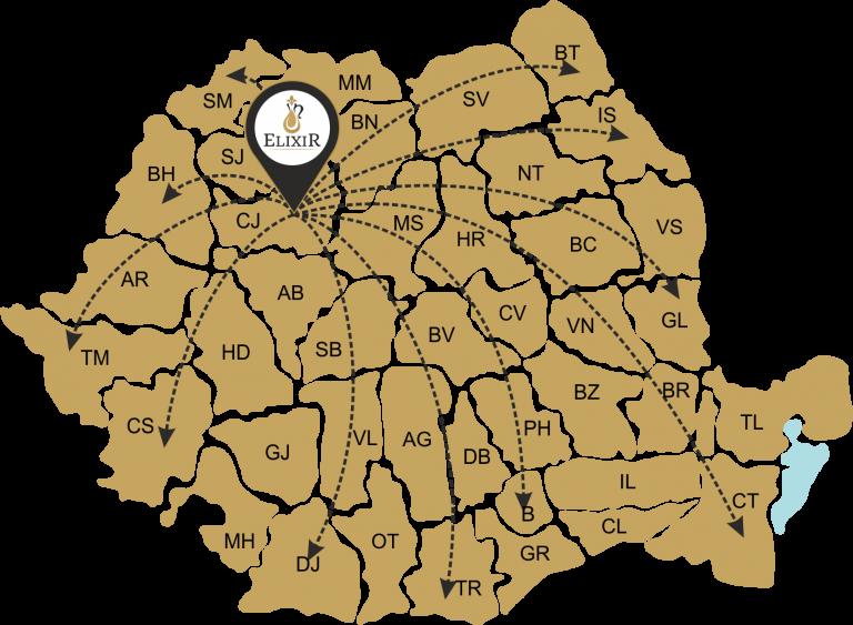 Harta Distributie Ulei Elixir